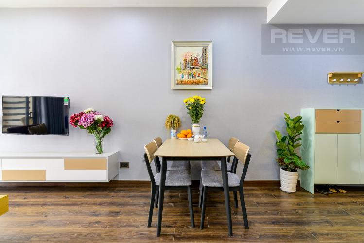 Phòng Ăn Cho thuê căn hộ Saigon Royal 2PN, tháp A, đầy đủ nội thất, view hồ bơi