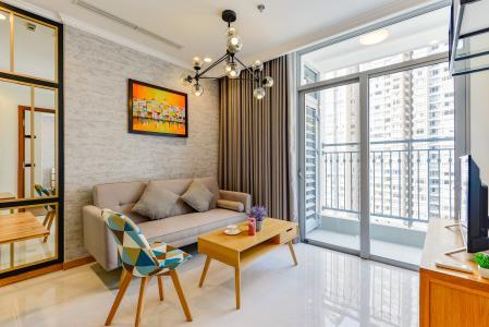 Căn hộ Vinhomes Central Park 1 phòng ngủ tầng trung C2 view sông