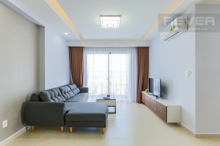Phòng Khách Căn hộ M-One Nam Sài Gòn 3 phòng ngủ tầng trung T1 nội thất đầy đủ