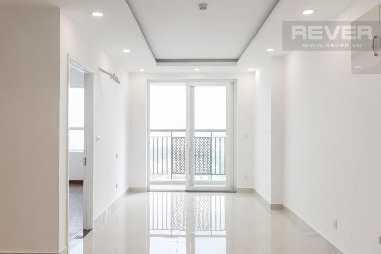 Cho thuê căn hộ Saigon Mia 2 phòng ngủ, nội thất cơ bản, thiết kế hiện đại, có ban công thông thoáng