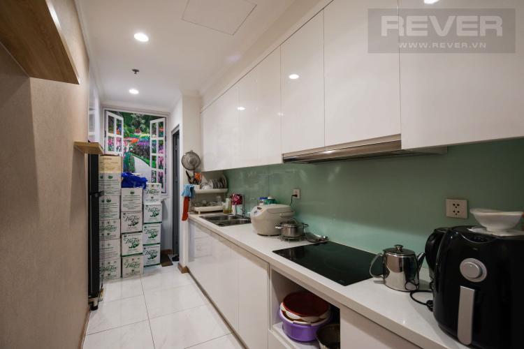 Bếp Bán căn hộ Vinhomes Central Park 2 phòng ngủ tầng thấp tháp C2, đầy đủ nội thất cao cấp