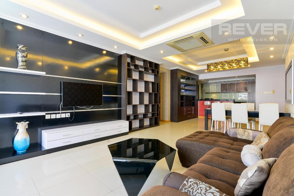 PK4 Bán hoặc cho thuê căn hộ Saigon Pearl 3PN, tháp Ruby 1, đầy đủ nội thất, view sông và nội khu