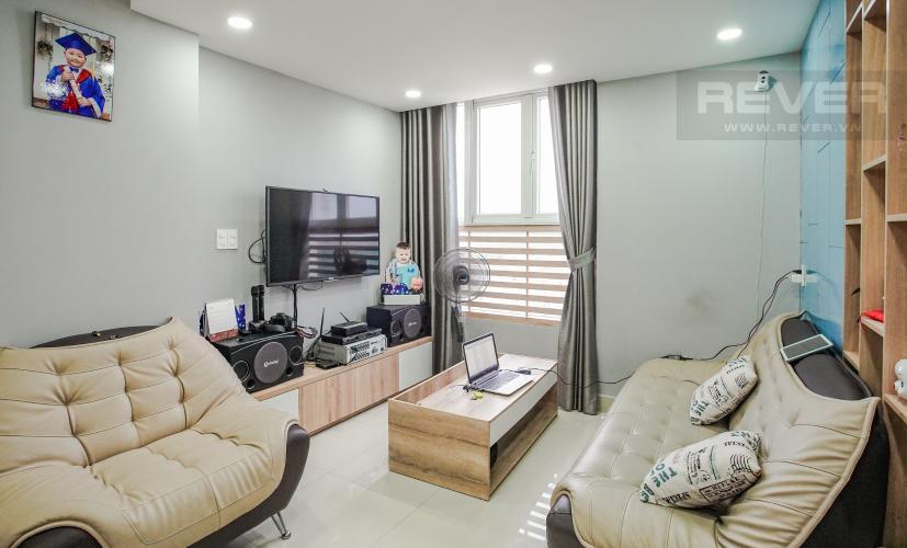 Phòng Khách Bán căn hộ The Park Residence 2PN tầng trung, tháp Daisy, nội thất cơ bản