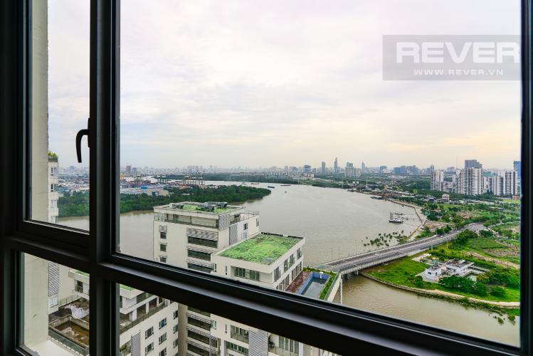 View Bán căn hộ Đảo Kim Cương 3PN tầng cao, tháp Bahamas, diện tích lớn 143m2, view sông thoáng mát