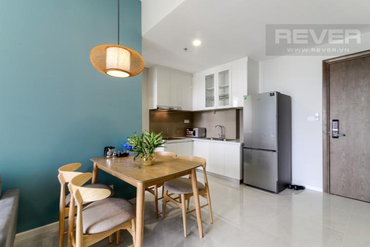 Phòng Ăn & Bếp Cho thuê căn hộ Masteri An Phú 1PN, tầng thấp, đầy đủ nội thất, view Xa lộ Hà Nội