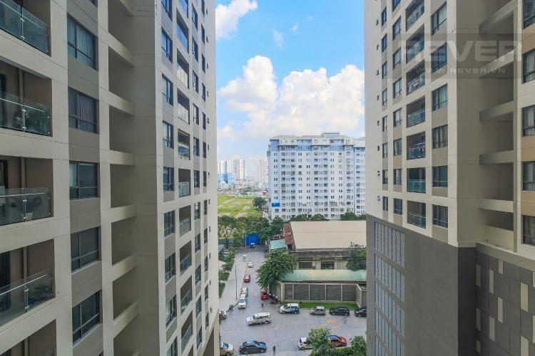 view cảnh căn hộ The Gold View Căn hộ The Gold View tầng thấp, view nội khu thông thoáng.