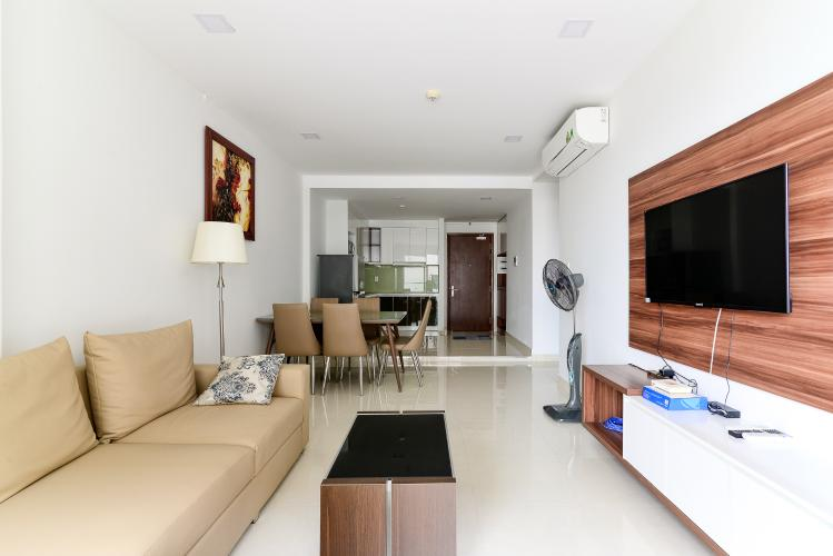 Bán căn hộ The Gold View 2PN, tầng thấp, đầy đủ nội thất, view sông thoáng mát
