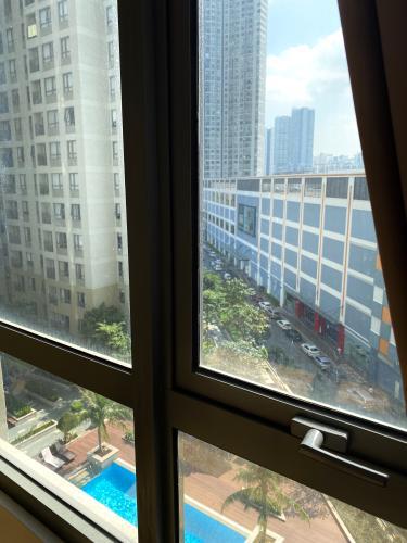 View phòng ngủ Masteri Thảo Điền Quận 2 Căn hộ Masteri Thảo Điền đầy đủ nội thất, view thoáng mát.