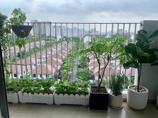 View từ ban công căn hộ Hausneo Căn hộ chung cư HausNeo quận 9 - nội thất đầy đủ