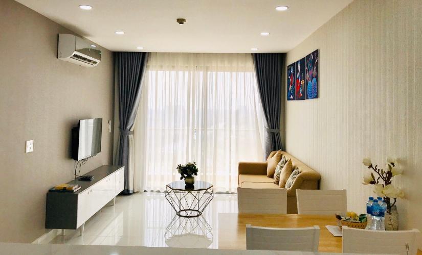 Cho thuê căn hộ The Gold View 2PN, tháp A, đầy đủ nội thất, hướng ban công Tây Nam