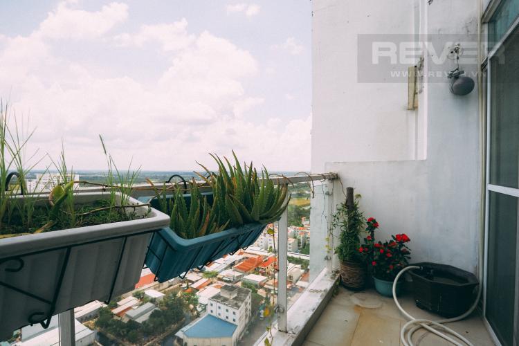 Ban Công Tầng Trệt Bán penthouse New Sài Gòn 4PN, đầy đủ nội thất, view đẹp