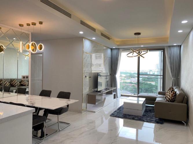 Cho thuê căn hộ Phú Mỹ Hưng Midtown 2PN, tầng thấp, diện tích 89m2, đầy đủ nội thất, view khu biệt thự