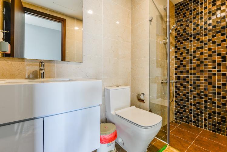 Phòng tắm 2 Căn hộ The Tresor tầng trung, 3 phòng ngủ, hướng Tây Bắc, view sông