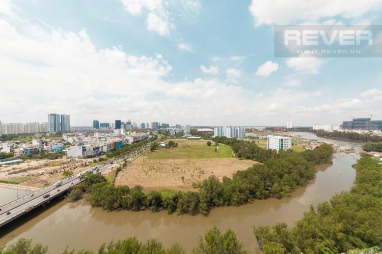 View Căn hộ Sunrise City 3 phòng ngủ tầng trung V1 view sông