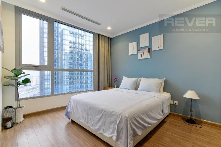 Phòng ngủ 1 Bán căn hộ Vinhomes Central Park 3PN, tầng cao, tháp Landmark 3, đầy đủ nội thất, view công viên và sông Sài Gòn