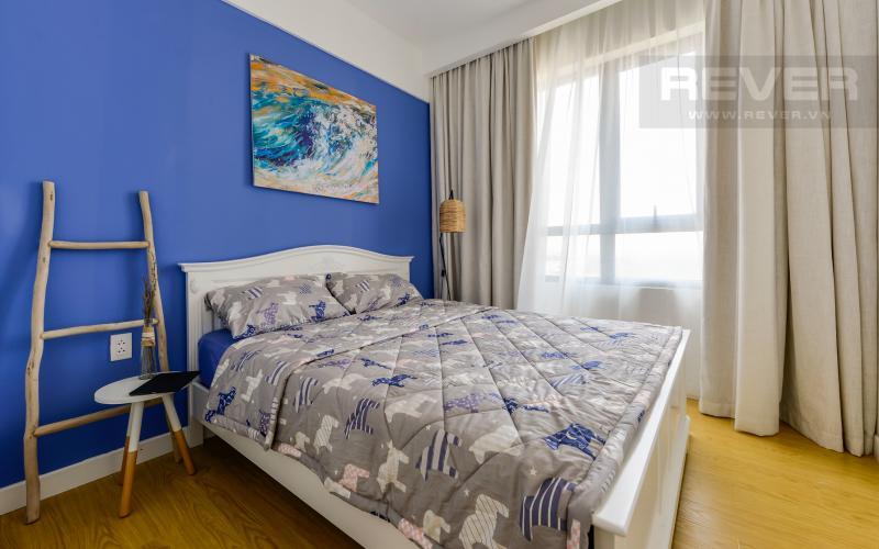 Phòng ngủ 1 Căn hộ Masteri Thảo Điền tầng cao tháp T4A view sông thoáng mát