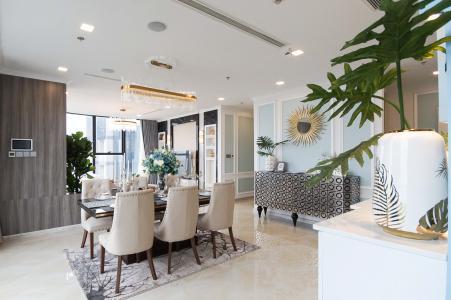 Cho thuê căn hộ Vinhomes Golden River 4PN, tầng cao, đầy đủ nội thất, view trực diện sông Sài Gòn