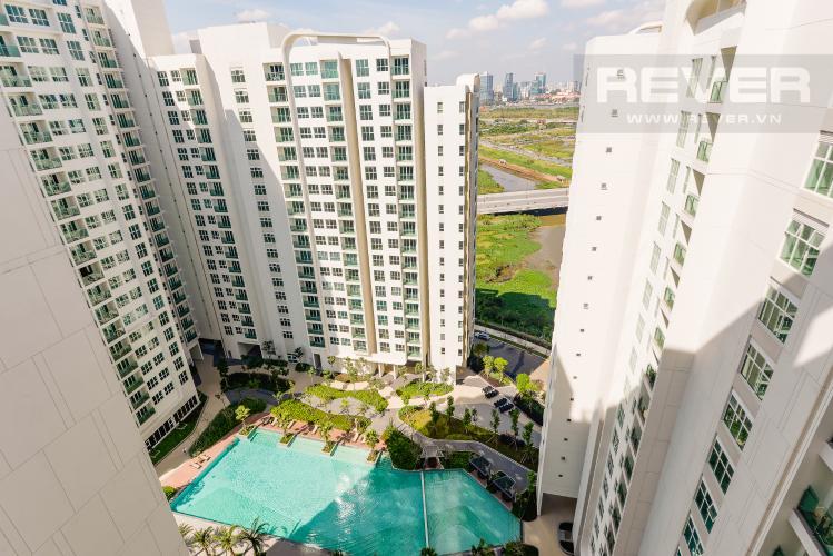 View Căn hộ Sadora Sala Đại Quang Minh 2PN đầy đủ nội thất, view hồ bơi và công viên