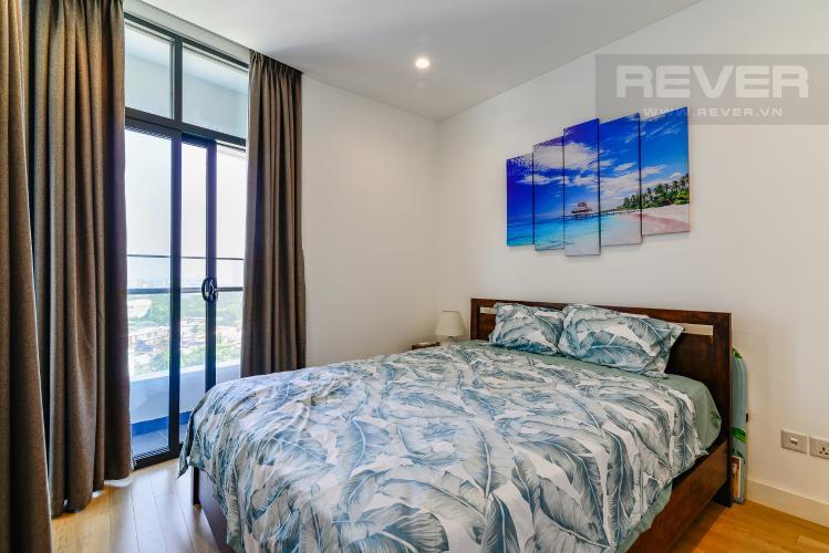 Phòng Ngủ Căn hộ City Garden 1PN, view đẹp, nội thất đầy đủ