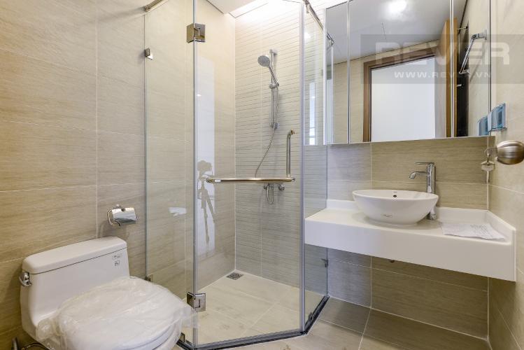 Phòng tắm 1 Officetel Vinhomes Central Park 2 phòng ngủ tầng trung P7 nhà trống