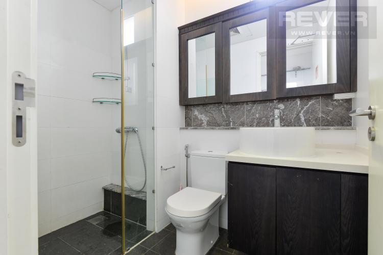 Toilet 1 Căn hộ The Estella Residence tầng cao, 3PN, nội thất đầy đủ, view hồ bơi