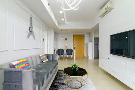 Bán căn hộ Masteri Thảo Điền 2PN, tầng cao, đầy đủ nội thất, view sông thoáng mát
