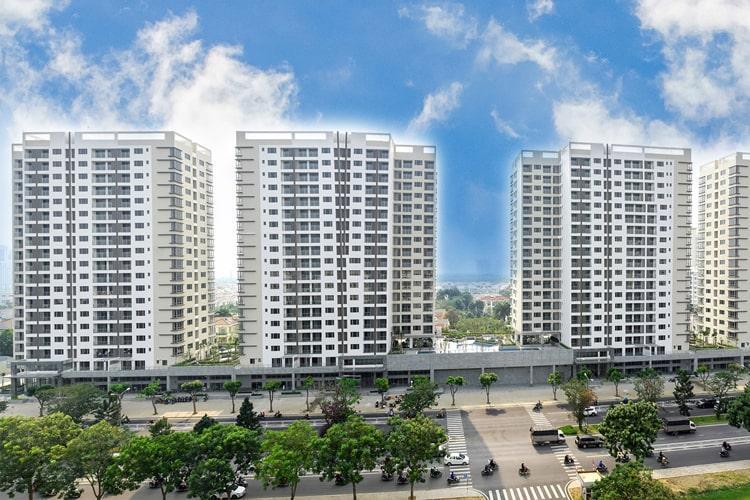 Hưng Phúc Premier, Quận 7 Căn hộ Hưng Phúc Premier tầng thấp, view đường nội khu.