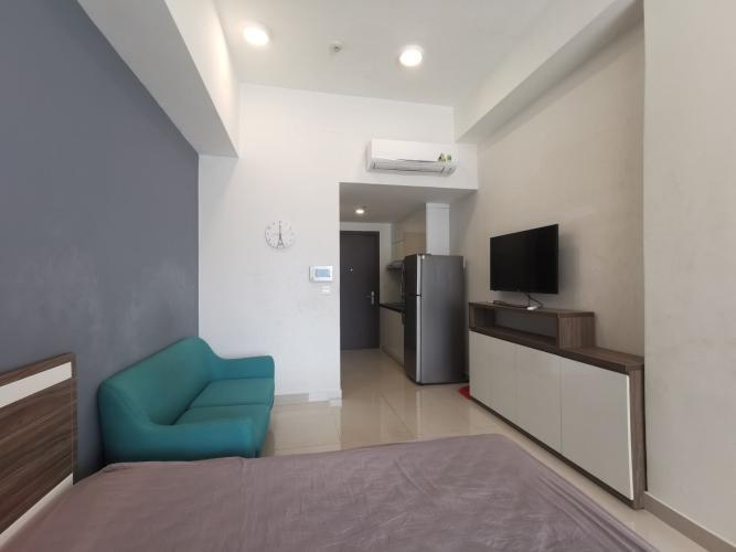 Phòng ngủ Rivergate Residence, Quận 4 Căn hộ Officetel RiverGate Residence tầng thấp, view Bitexco.