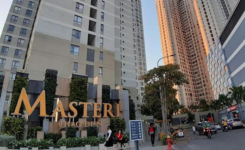 Masteri Thảo Điền, Quận 2 Căn hộ Masteri Thảo Điền tầng cao, ban công hướng Tây Nam.