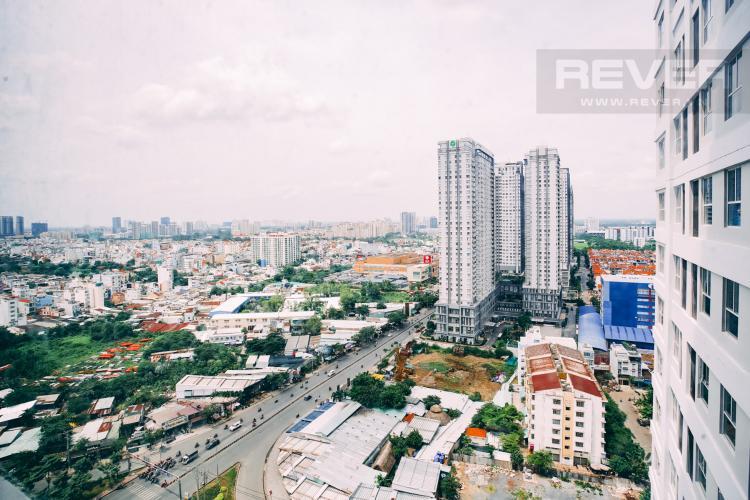 View Cho thuê căn hộ Sunrise CityView 1PN, tầng trung, không có nội thất, view đường Nguyễn Hữu Thọ