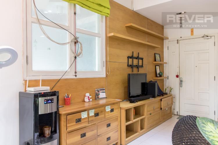 Phòng Khách 1 Bán căn hộ Chung cư Khánh Hội 3, 2PN, tầng 1, đầy đủ nội thất, view trực diện sông