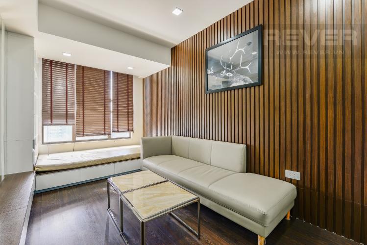 Phòng ngủ 3 Căn hộ The Tresor tầng trung, 3 phòng ngủ, hướng Tây Bắc, view sông