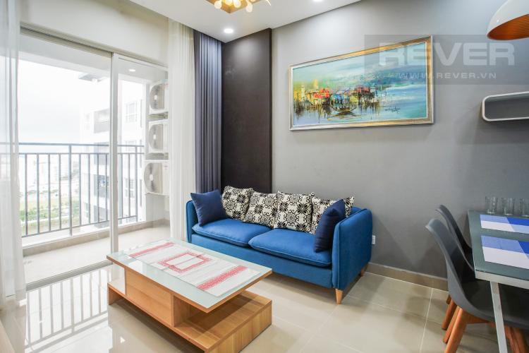 Phòng Khách Cho thuê căn hộ Sunrise Riverside 2PN, tầng trung, đầy đủ nội thất, view sông mát mẻ