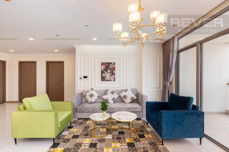 8fc70f97f19417ca4e85 Bán hoặc cho thuê căn hộ Vinhomes Central Park 4PN, tháp Park 3, đầy đủ nội thất, hướng Đông, view sông Sài Gòn và công viên trung tâm