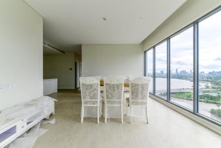 Cho thuê căn hộ Diamond Island - Đảo Kim Cương 3PN, không có nội thất, view sông và Landmark 81