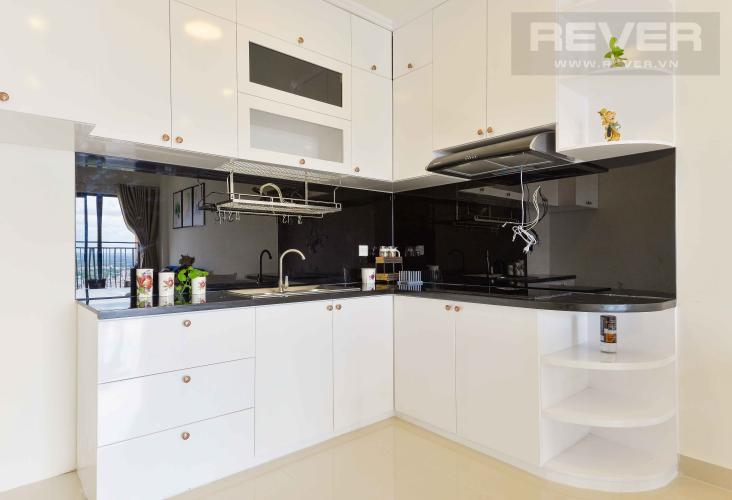 Bếp Bán căn hộ The Sun Avenue 2PN, tầng cao, đầy đủ nội thất, view sông và hướng Đông Nam đón gió