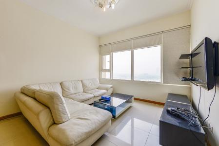 Căn hộ Saigon Pearl 2 phòng ngủ tầng trung Topaz view về Quận 1