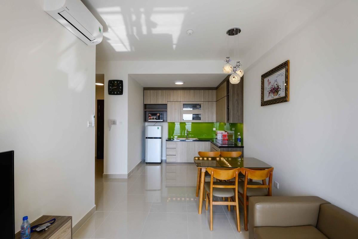 PK1 Cho thuê căn hộ The Sun Avenue 2 phòng ngủ, tầng cao, block 5, view Đông Nam thoáng mát