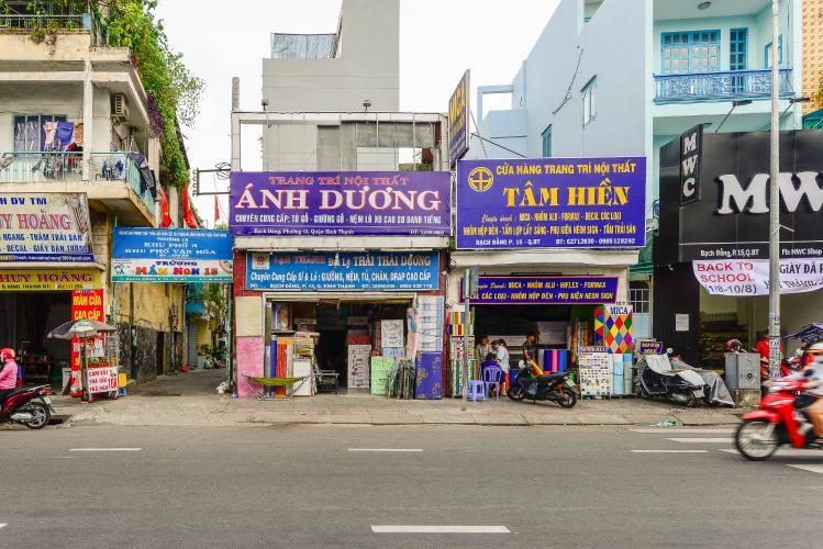 Nhà phố 2 tầng mặt tiền đường Bạch Đằng, Quận Bình Thạnh