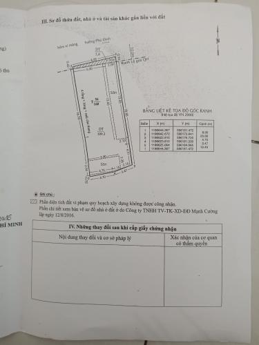 Bản vẽ nhà phố Bến Phú Định, Quận 8 Nhà phố có dãy trọ cho thuê, hẻm xe hơi, trung tâm quận 8.