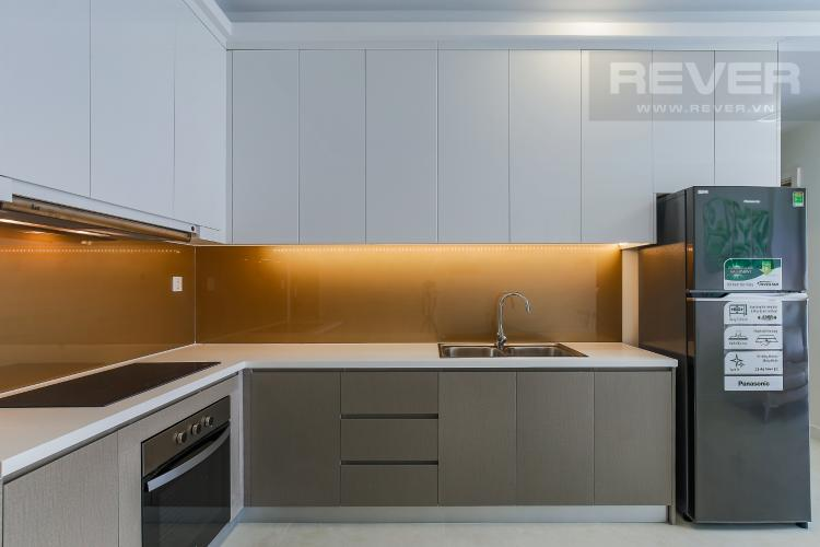 Phòng Bếp Căn hộ Masteri Millennium tầng cao, 2PN đầy đủ nội thất, view sông đẹp