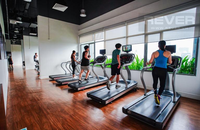 Phòng Gym Cho thuê căn hộ Riviera Point 2PN, tầng trung, tháp T4, đầy đủ nội thất, view sông mát mẻ