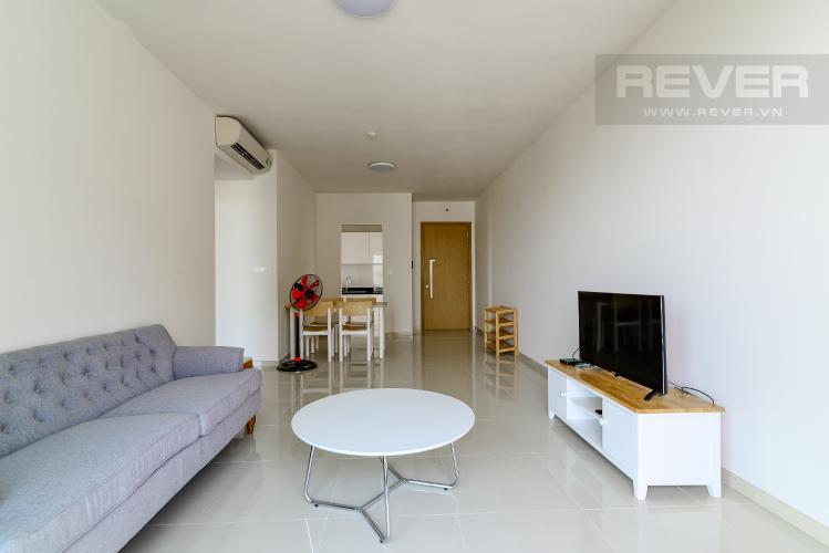 Phòng Khách Bán hoặc cho thuê căn hộ  Vista Verde 89.1m2 2PN 2WC, nội thất tiện nghi, view thành phố