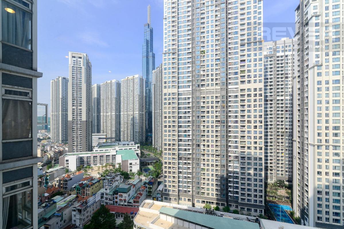 view 1 Bán hoặc cho thuê căn hộ Saigon Pearl 3PN, tháp Ruby 1, đầy đủ nội thất, view sông và nội khu