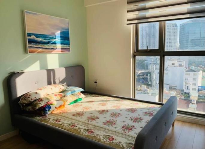Phòng ngủ Masteri Millennium Quận 4 Căn hộ tầng trung Masteri Millennium nội thất đầy đủ.