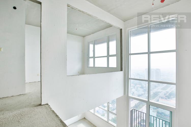 Cầu Thang Duplex Vista Verde 2 phòng ngủ tầng thấp tòa T1 giao thô