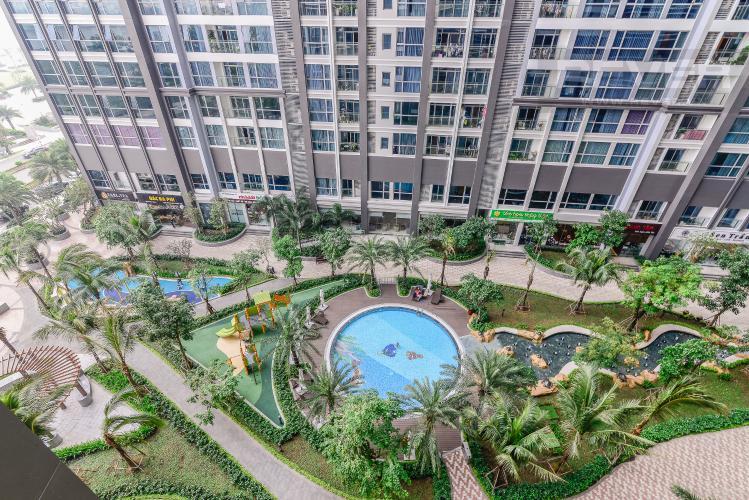 View Căn hộ Vinhomes Central Park tầng thấp Park 2 view hướng sông