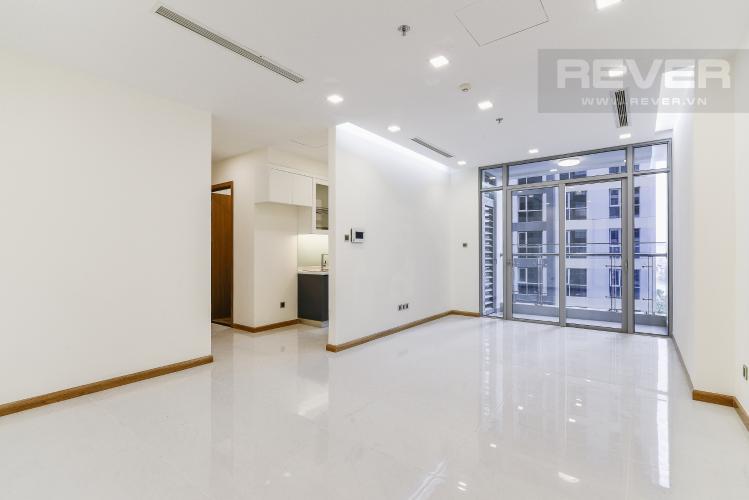 Tổng Quan Căn hộ Vinhomes Central Park 2 phòng ngủ nằm ở tầng thấp P7 view hồ bơi