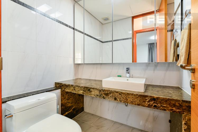 Phòng Tắm 2 Cho thuê căn hộ Xi Riverview Palace tầng cao, 3PN, đầy đủ nội thất, view sông