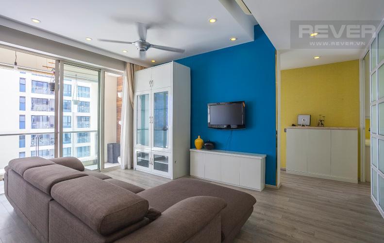 Phòng Khách Căn hộ Estella Residence 3 phòng ngủ tầng cao 4A đầy đủ nội thất